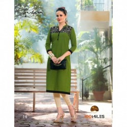 Cotton Designer Kurthi Long