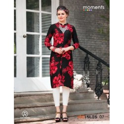 Moments Casual Long Kurthi